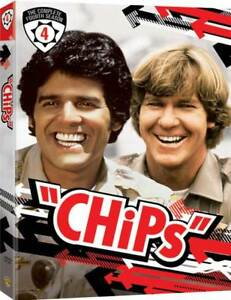 CHIPS (COMPLETE SEASON FOUR) (5 DVD SET) ~ NEW ~ $15.00
