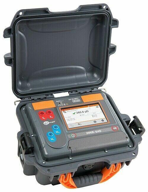 Sonel MMR-640 Low Resistance Micro-Ohmmeter 10A DLRO 10 Amp