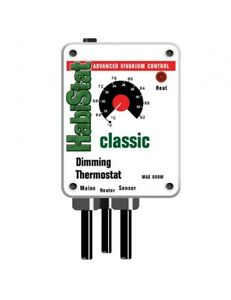 HABISTAT DIMMER DIMMING Reptile Thermostat Vivarium New