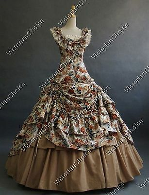 Southern Belle Princess Victorian Fancy Dress Fairytale Theatre Clothing N 081](Southern Belle Dress)