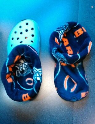 SOCKS / LINERS FOR CROC, CROCS OR CLOGS GREAT FOR WINTER -  CHICAGO -