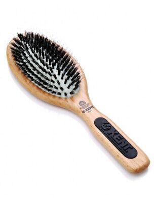 Kent PF01 Bristle & Nylon Smoothing Straightening Porcupine Hair Brush Hairbrush
