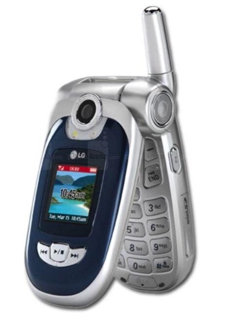 LG VX8100 - Silver Blue (Verizon) Cellular Phone