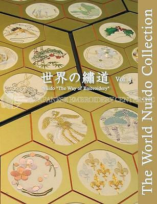 The World Nuido Collection (Japanese Embroidery) Vol I