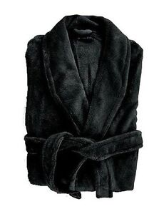 Microplush Bathrobe Super Soft Bath Spa Robe Dressing Gown Unisex 3/4 Length NEW