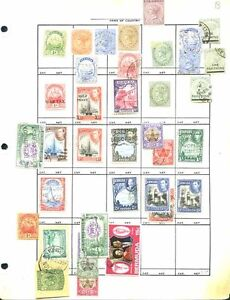 BERMUDA STAMPS   COLLECTION ON PAGES   CV $120.00+