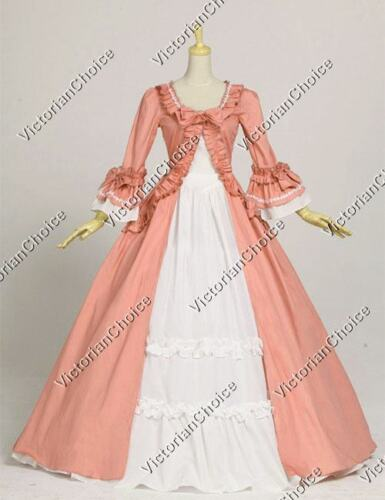 Gothic Fairytale Renaissance Princess Dress Gown Theater Halloween Costume 257
