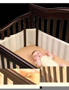 THE ONLY CERTIFIED SAFE CRIB LINER - BREATHABLE
