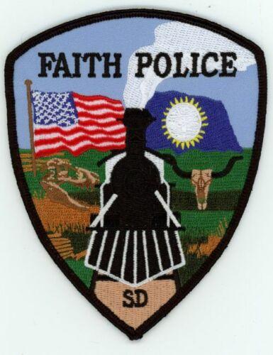 FAITH SOUTH DAKOTA SD POLICE NICE COLORFUL PATCH SHERIFF TRAIN