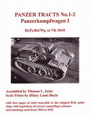 Panzer Tracts 1-2: Panzerkampfwagen I (Panzer 1) Panzer-Modellbau/Bilder/Skizzen