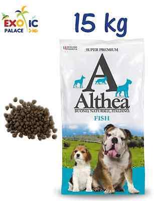 ALTHEA Erwachsene Fisch 15 kg Essen Das einzige protein Fisch für Hund natürlich ()