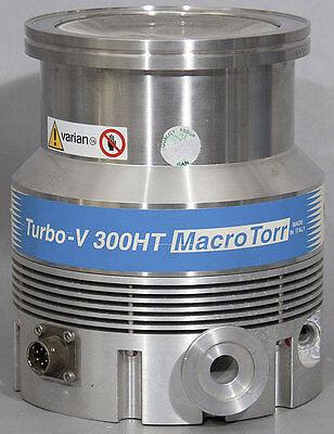 Varian Turbo-v 300ht Macrotorr Turbomolecular Vacuum Turbo Pump Pn 9699037s07