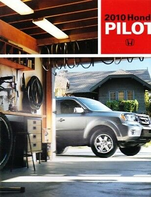 2010 10 Honda Pilot Original Sales Brochure MINT