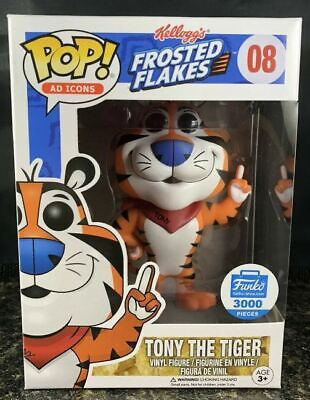 Funko POP Tony the Tiger EXCLUSIVE AD ICONS CEREAL FROSTED FL / Hard Stack Case