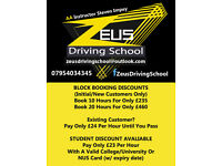 Zeus Driving School - AA Instructor Steven Impey - Servicing CO/CM Postcodes - Student Discounts