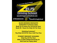 Zeus Driving School - AA Instructor Steven Impey - Servicing CO/CM Postcodes - Student Discounts