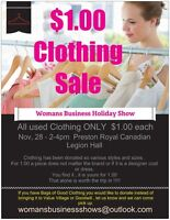 1.00 Clothing SALE Holiday Show
