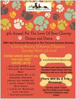 Fundraiser In Support Of The Toronto Humane Society