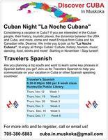 Travelers Spanish 6 wk Course