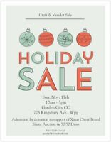 Holiday Craft and Vendor Sale
