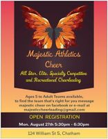 Competitive Cheerleading Registration