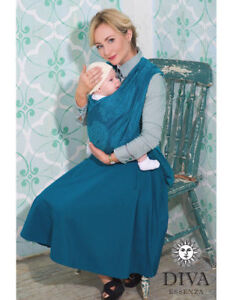 New 100% Cotton Diva Essenza Woven Baby Wrap Carrier , Size 5
