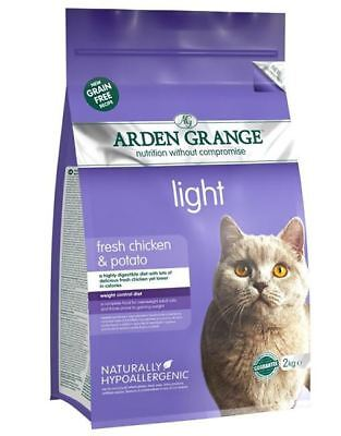 Arden Grange - Grain Free Cat Food - Light - 2Kg