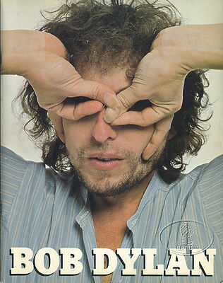 BOB DYLAN 1978 Tour Concert Program Book