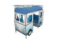 Blue De Van Cabin Bed
