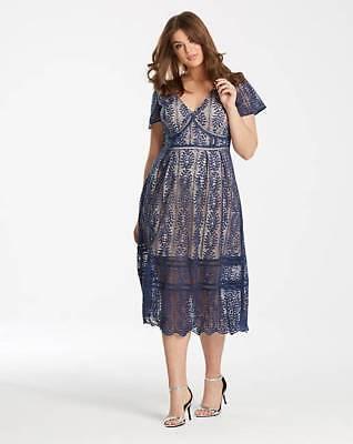 Lovedrobe Cap Sleeve Lace Dress uk PLUS size 30 bnwt  Cap Sleeve Plus Size Cap