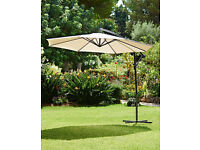 NEW Cantilever Parasol - Ivory