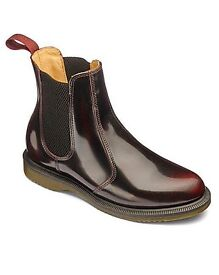Doc martens cherry red Chelsea boots