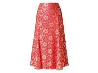 New, rrp £30 Anthology Coral Lace Skirt,UK26, JD williams,