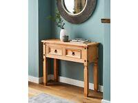 Console table / Corona wood side table