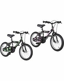 "16"" UNIVERSAL BIKE...GIRLS OR BOYS. BRAND NEW AND BOXED."