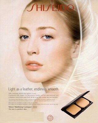 Shiseido Sheer Matifying Compact Refill Foundation  beige, ochre, brown, ivory ()