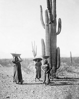 MARICOPA INDIAN WOMEN EDWARD S. CURTIS 1907 11x14 SILVER HALIDE PHOTO PRINT