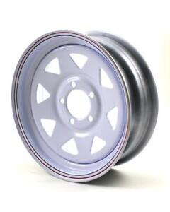 4 New spoked 15 inch trailer rims $240