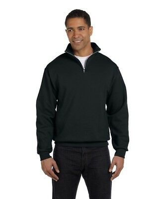 Quarter Mens Sweatshirt (Fruit of The Loom Mens Quarter Zip Cadet Collar Pullover Sweatshirt Color & Size )