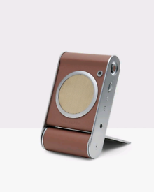 NEW Ted Baker Wireless Bluetooth Speaker. Aluminum, genuine leather.