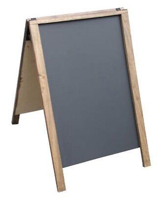 24 X 36 Dark Hardwood A-frame Chalkboard Sidewalk Sign...liquid Chalk Ok - Usa
