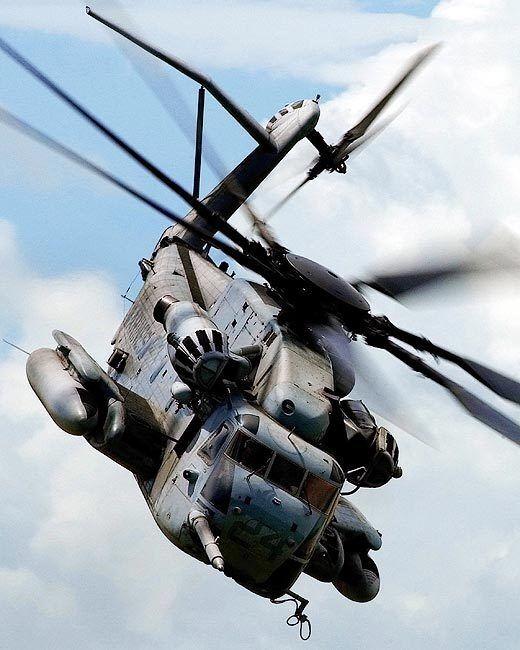 CH-53 / CH-53E SEA STALLION HELICOPTER 11x14 SILVER HALIDE PHOTO PRINT