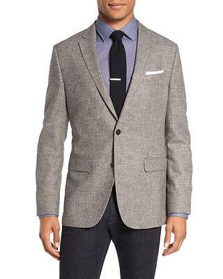 ANDHURST 40 R Wool Blend Vintage Tweed Plaid Check Sport Coat Blazer Men Jacket