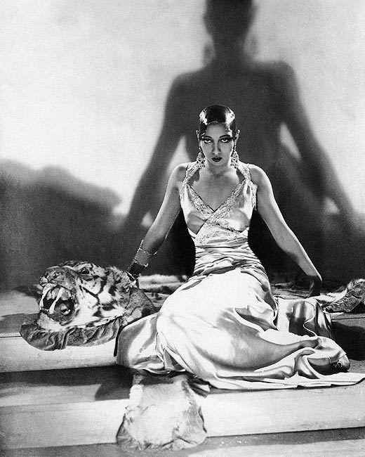 PORTRAIT OF JOSEPHINE BAKER 1925 11x14 SILVER HALIDE PHOTO PRINT