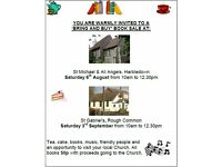 Bring and Buy Book Sale at St Michael & All Angels, Harbledown - Saturday 6th August