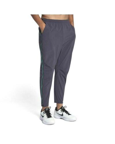 Nike Court Flex Zip Off Tennis Pants Grey & Black 887524 101 Men's Size Large