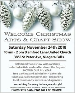 Welcome Christmas Show Niagara Falls Nov 24