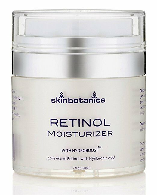 LilyAna Naturals Retinol Cream Moisturizer for Face and Eyes