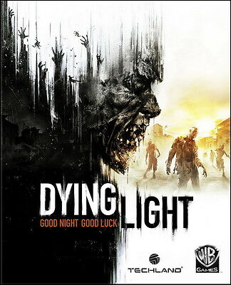 "002 Dying Light - Open World Survival Horror Video Game 24""x30"" Poster"