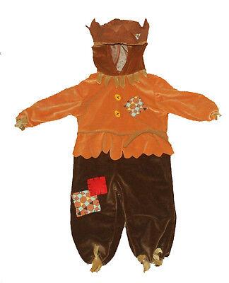 MINIWEAR~TODDLER SCARECROW HALLOWEEN COSTUME~18 - Scarecrow Costume Toddler
